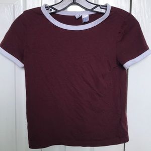 H&M short sleeve top